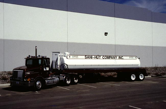 Sani Hut Company Inc Job Trucks