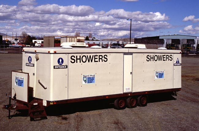 shower fire showers mobile portable rental service price rent for trailer bush